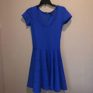 Blue Tee Dress